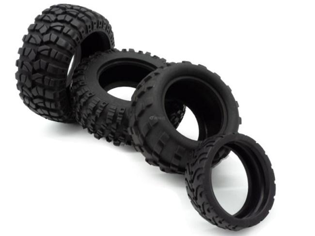 橡胶玩具高速车轮胎